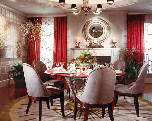 Jazz Moderne Dining | 2005 ASID Maryland Design Competition Award Winner