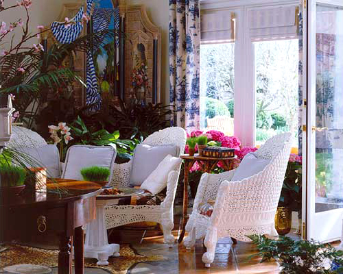 Home of Larry Horne, Fredericksburg, VA Published in 'Veranda' Magazine